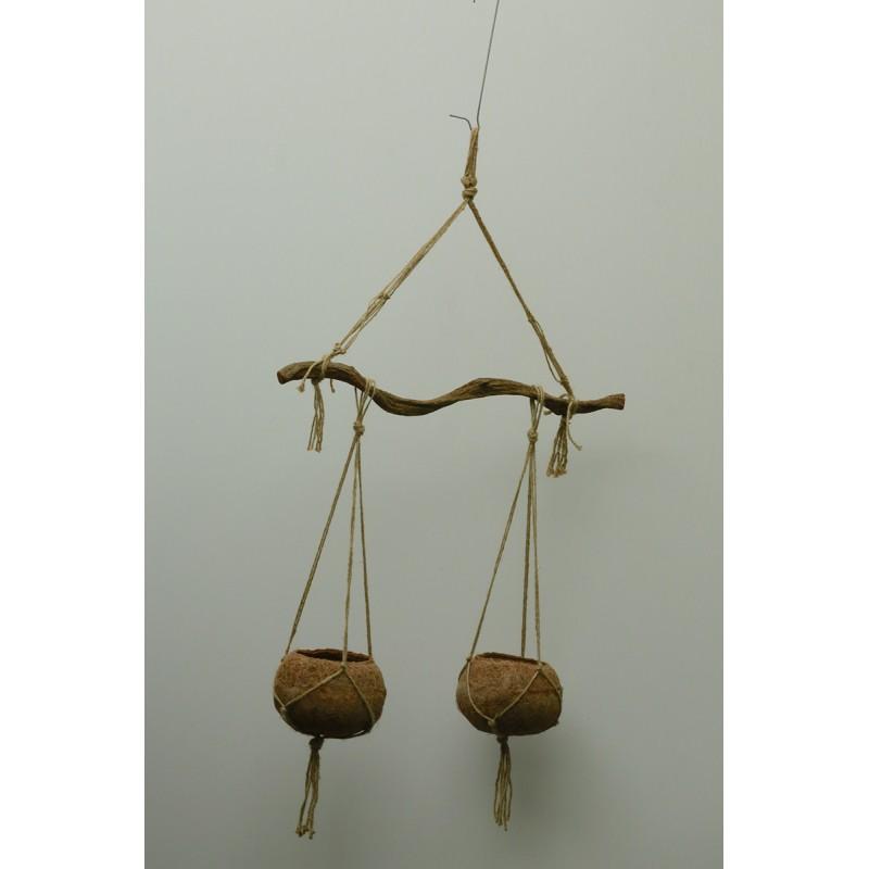 Suspension 2 boules